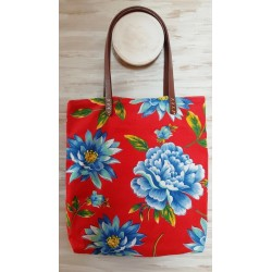BOLSO TOTE RED